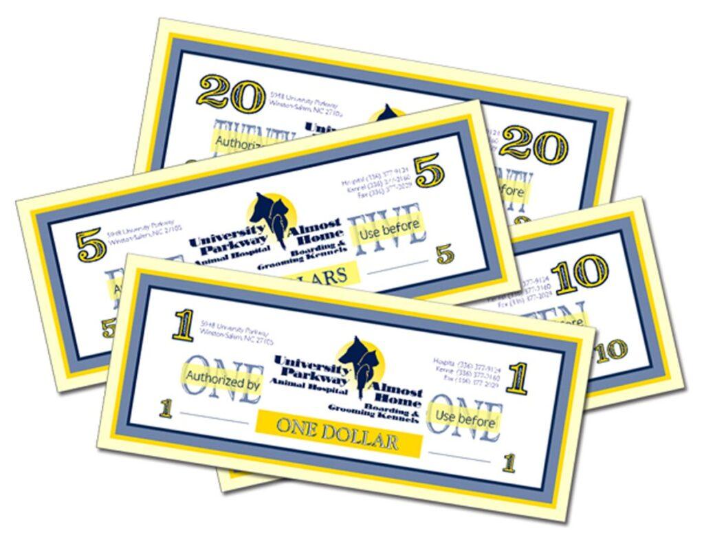 University Parkway Animal Hospital Gift certificates