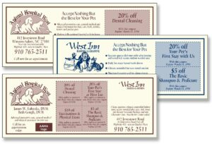 Animal Hospital West Val Pak coupons