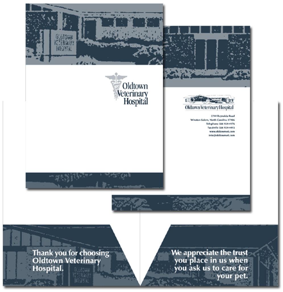 Oldtown Veterinary Hospital Revised pocket folder